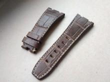Brown crocodile strap for Audemars Piguet