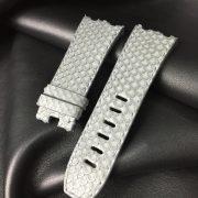 AP Grey python strap wisentex