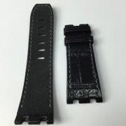 AP black gator black alcantara strap wisentex