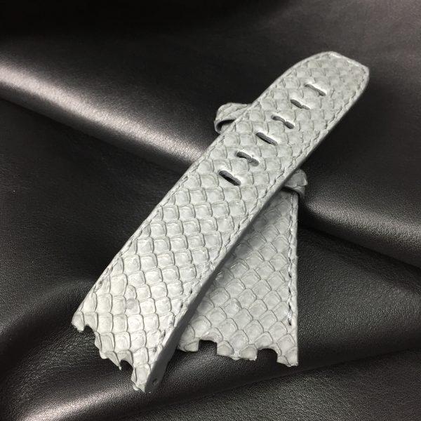 Audemars piguet grey python strap wisentex