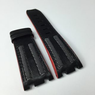 Audemars Piguet Grand Prix grey insertions and red edges