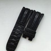 Black crocodile GP Audemars Piguet strap
