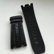 Black croc Grand Prix AP strap
